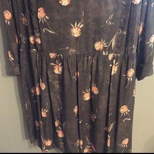 Caslon Dresses - Caslon Plus Floral Peasant Dress
